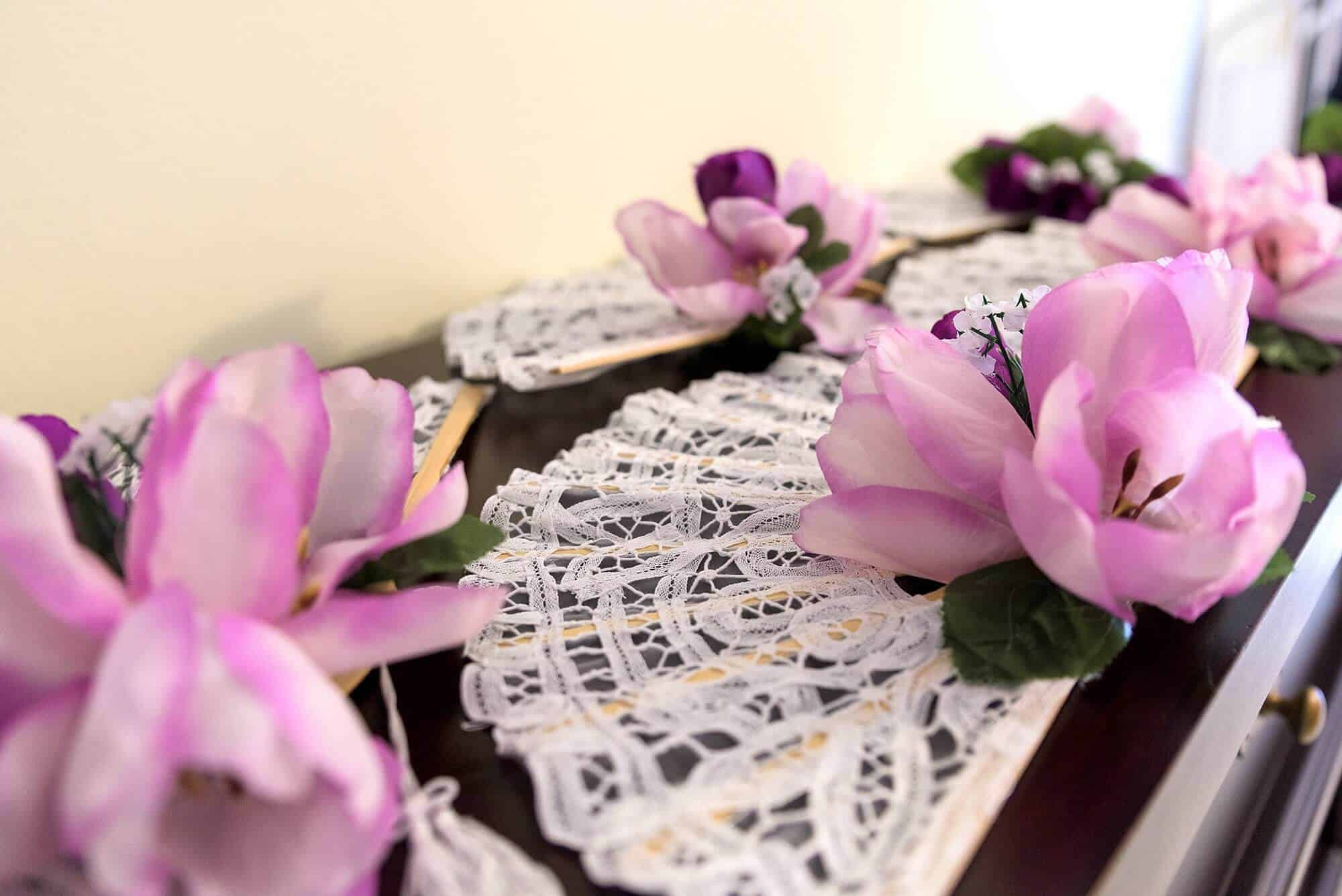 Candice wedding flower props